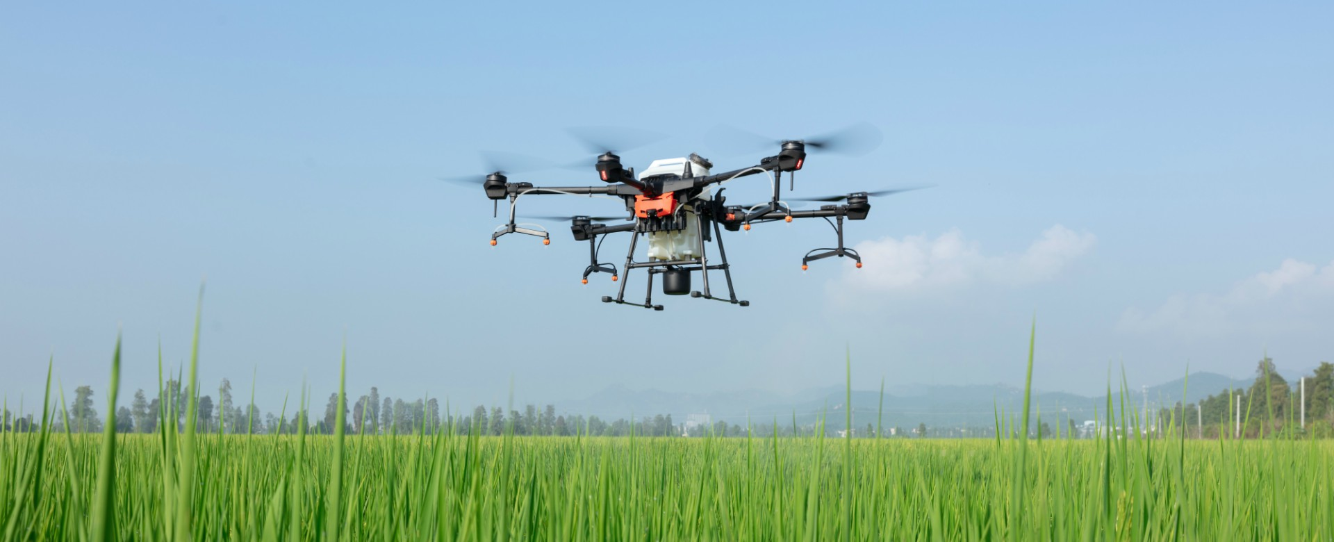 AeroSpray - prikaz drona